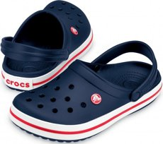 Picture of Crocs Crocband Clogs / Navy