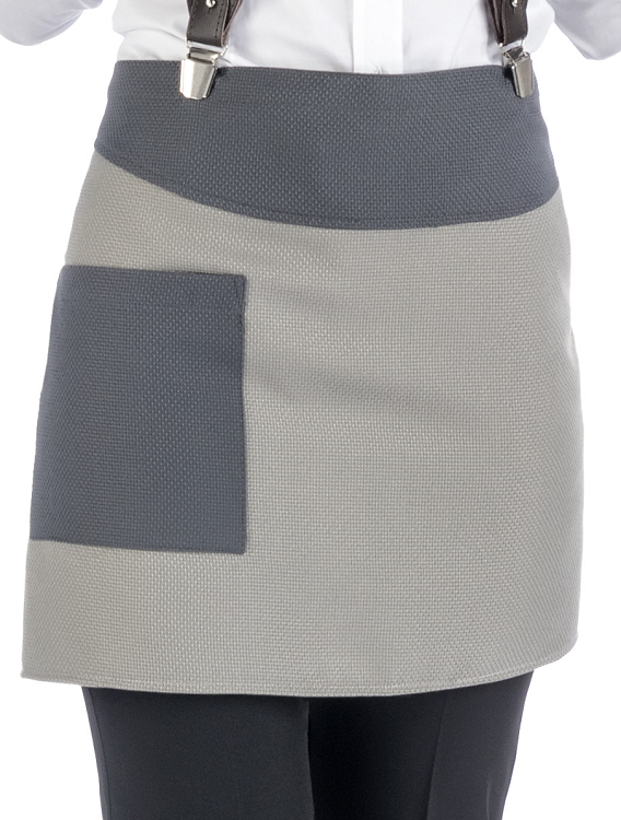 Picture of Fiona Bar Apron / Grey