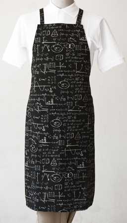 Picture of Bib Apron with Cross backside / Maths