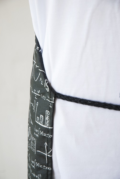 Picture of Waterproof Apron Maths
