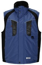 Picture of Work Space Vest 3361 blue/black