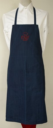 Picture of Bib Apron with embroidery / Chef