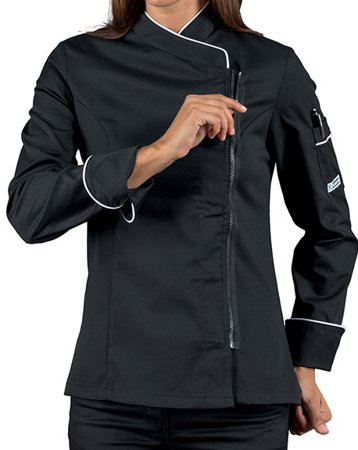 Picture of Chef Jacket Giacca Lady Zip 057721Z