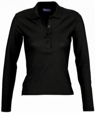 Picture of Women's Polo shirt PODIUM / Black