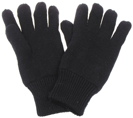 Picture of Gloves with lining 15494A / Black
