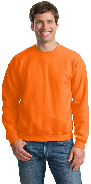Picture of Sweatshirt GILDAN / Neon Orange