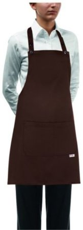 Picture of Ποδιά Επιστηθίου Γυναικεία 70x70 Short Bip Apron Brown