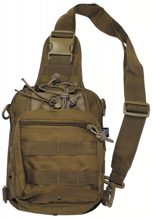 Picture of Shoulder Bag, molle, 30700R / Coyote tan