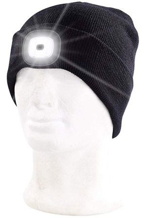 Picture of Winter beanie with Protective / LED Beanie