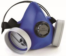 Picture of Half breathing Mask with Two filters NEW EURMASK DUO 7400