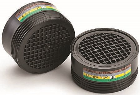 Picture of Filter x1 For Breathing Half Mask Eurfilter A1B1E1K1 - 7592 / D