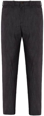 Picture of Chef Trousers Giove / Black Jeans