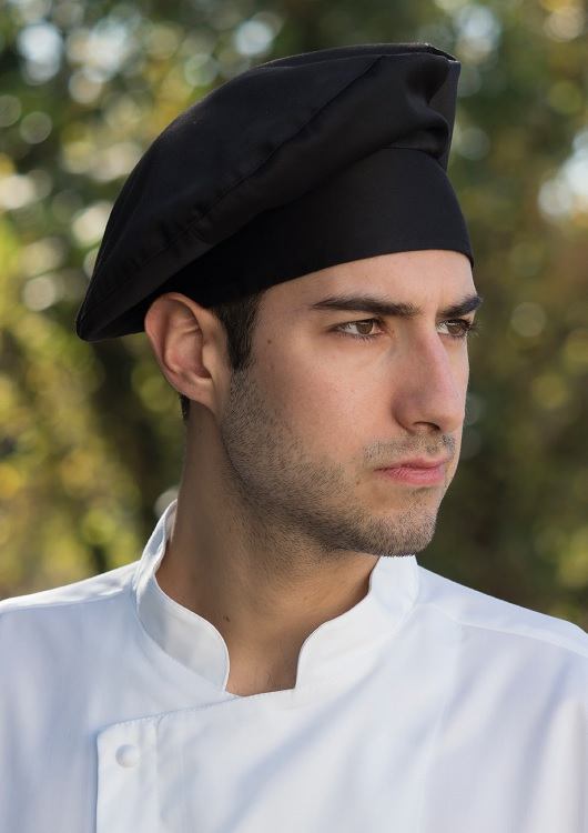 Picture of Chef's Hat Toque Monet / Black