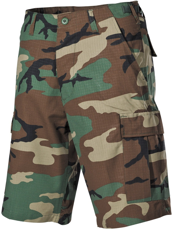 Picture of Shorts US Bermuda, Rip Stop 01512T / BDU, Woodland