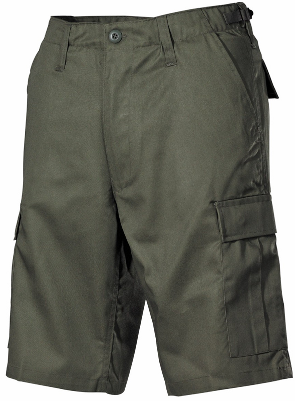 Picture of Shorts 01502B / OD green cargo-pockets