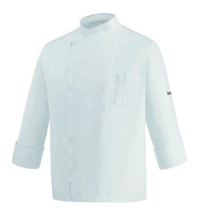 Picture of Chef Jacket White Zip
