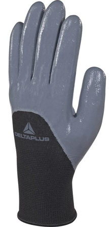 Picture of Gloves VE715GR from 100% polyester with nitrile coating on the palm