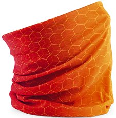 Picture of Multifunctional Headband Morf™ Geometric / Orange