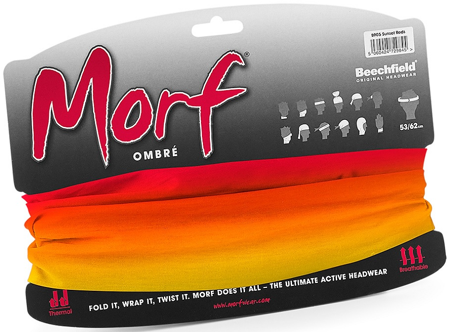 Picture of Multifunctional Headband Morf™ Ombré / Sunset Reds
