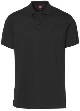 Picture of Pique Polo shirt 0525 Stretch / Black