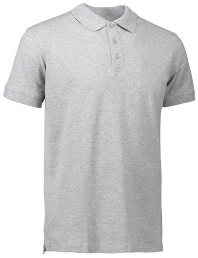 Picture of Pique Polo shirt 0525 Stretch / Grey Melange