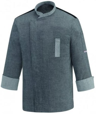 Picture of Chef Jacket Twins / Grey Mix