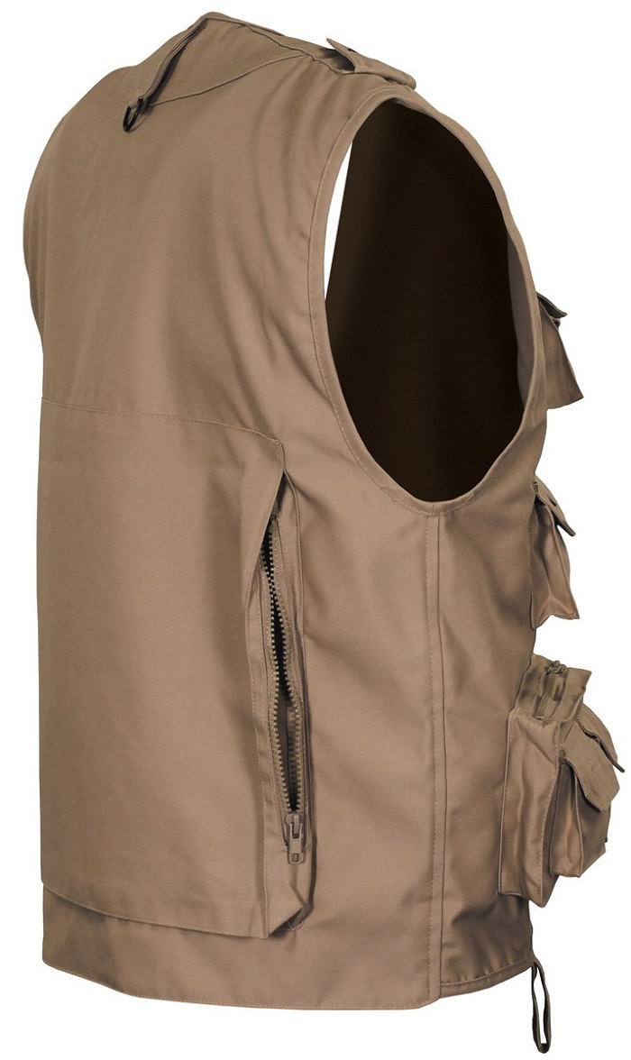 Picture of Canadian Outdoor Vest 04253F / Khaki