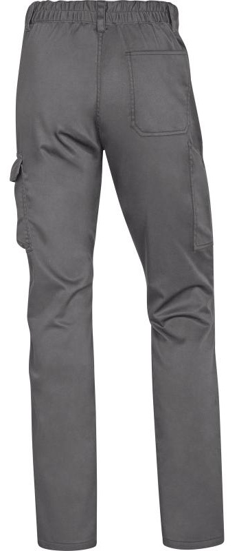 Picture of Work Trousers Stretch PANOSTRPA Grey-Black