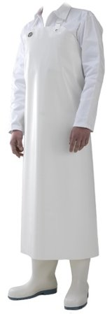 Picture of Waterproof Work Apron DELTA / White