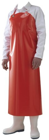 Picture of Waterproof Work Apron DELTA / Red