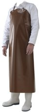 Picture of Waterproof Work Apron DELTA / Brown