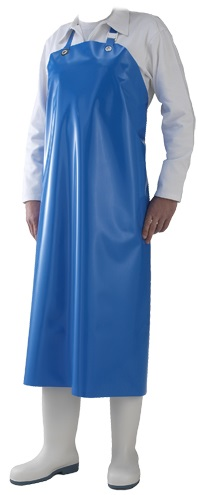 Picture of Waterproof Work Apron DELTA / Blue
