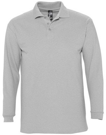 Picture of Polo WINTER II / Grey Melange