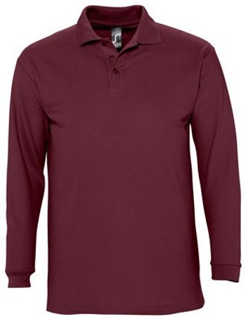 Picture of Polo WINTER II / Burgundy