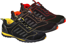 Picture of Safety Shoe FW34 Steelite Lusum S1P SRC / Black-Yellow