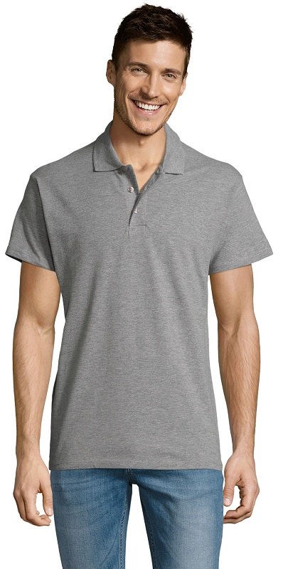 Picture of Polo SUMMER II / Grey Melange