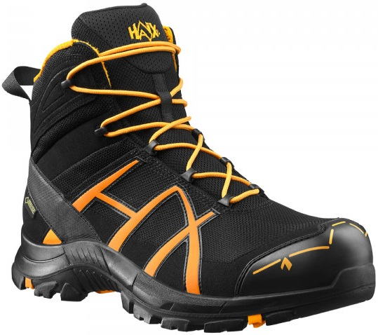 Picture of Safety boot Haix Black Eagle® Safety 40 mid / Black-Orange