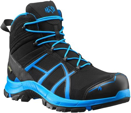 Picture of Safety boot Haix Black Eagle® Safety 40 mid / Black-Blue
