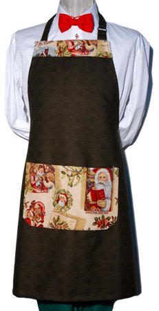 Picture of Bib Apron Christmas Warmth