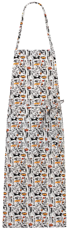 Picture of Lima Bib  Apron 1650 Superheroes