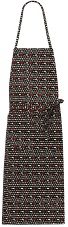 Picture of Lima Bib  Apron 1651 Game Over