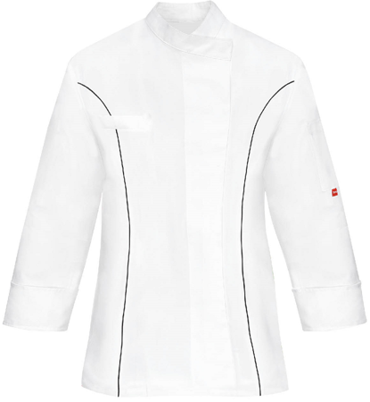 Picture of Women's Chef Jacket Frida 1335 / Black