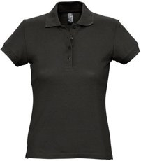 Picture of Women's polo shirt PASSION / Black