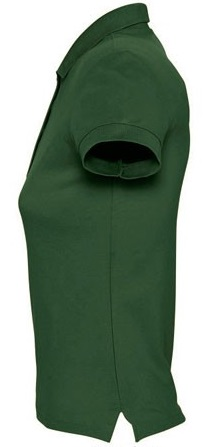 Picture of Women's polo shirt PASSION / Golf Green