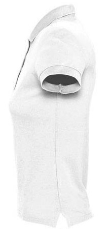 Picture of Women's polo shirt PASSION / White