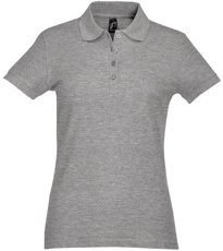 Picture of Women's polo shirt PASSION / Grey Melange