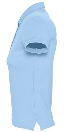 Picture of Women's polo shirt PASSION / Sky Blue
