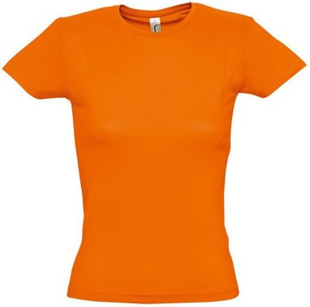 Picture of Women's T-Shirt MISS / Orange