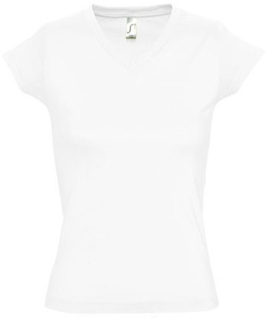 Picture of Women's T-Shirt MOON / White