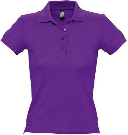 Picture of Women's Polo Shirt PEOPLE / Dark Purple